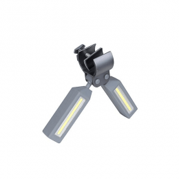 Bo-Camp Duolamp met klem Bright 500 Lumen