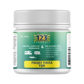 123 Products Polijstpasta fijn in pot 540 gram