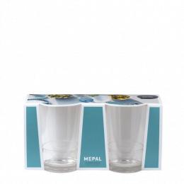 Mepal Glas Flow 200ml set 2 stuks