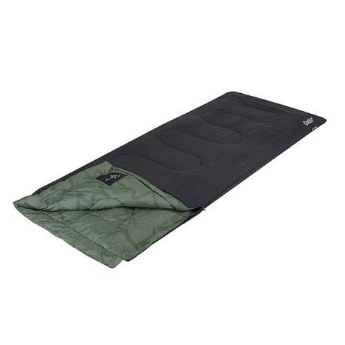 Bo-Camp Slaapzak LeevZ Cedar 220x90cm Groen/Antraciet