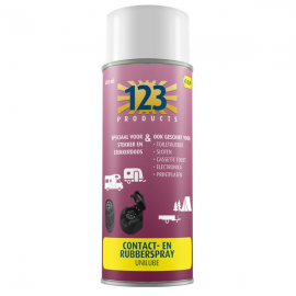 123 Products Contact- en Rubberspray