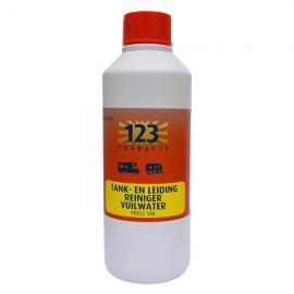 123 Products Press VW Tank- en Leiding Reiniger Vuilwater 0.5 Liter