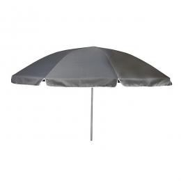 Parasol/Kniksysteem Ø165 cm Rond Grijs