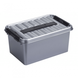Sunware Q-line Opbergbox 6 liter met handgreep