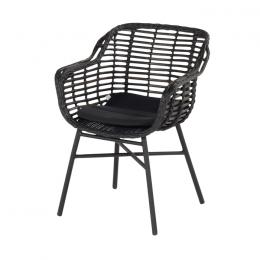 Hartman Cecilia dining stoel - Zwart