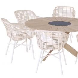 Hartman Cecilia dining stoel - Ivory