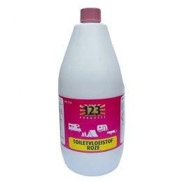 123 Products Toiletvloeistof Roze