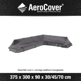 Loungeset platformhoes Rechts Aerocover 375x300x90xH30/45/70