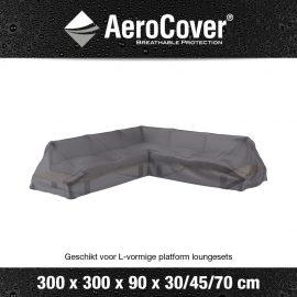 Loungeset platformhoes Aerocover 300x300x90xH30/45/70