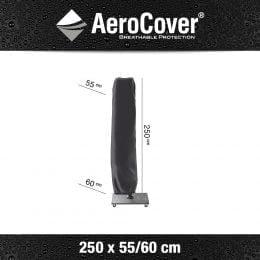 Parasolhoes Zweefparasol AeroCover 250x55/60cm