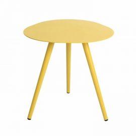 Smile loungetafel 50cm - Curry Geel