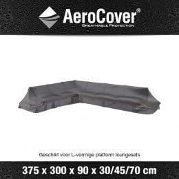 Loungeset platformhoes Links Aerocover 375x300x90xH30/45/70cm