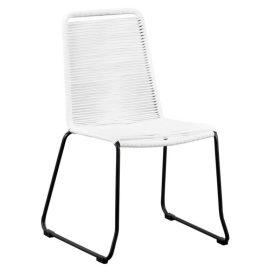 Elos diningchair - White rope