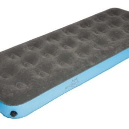 Bo-Camp Luchtbed 1-persoons velours XL 205cm