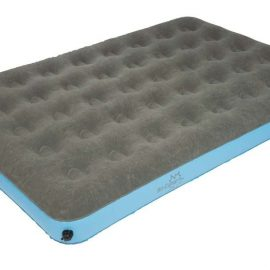 Bo-Camp Luchtbed 2-persoons Velours XL 205cm