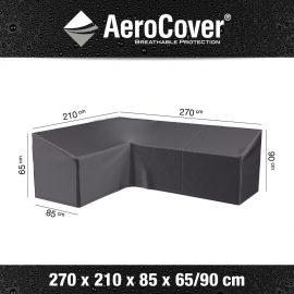 Loungesethoes AeroCover L-Vorm 270x210x85xH65/90cm Links