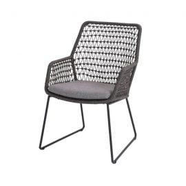 Babilonia dining stoel - Mid Grey