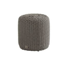 4 Seasons Outdoor Muffin rope poef - antraciet