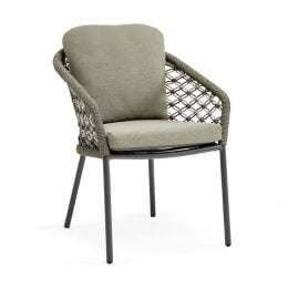 SUNS Nappa dining stoel - Forest Green