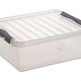 Sunware Q-line Opbergbox transparant 25 liter