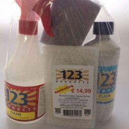 123 Products Clean & Wax Actiepakket