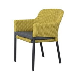 Cairo dining stoel - Yellow